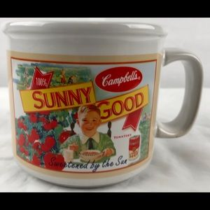 Campbells Tomato Soup Sunny Good soup Mug 2005